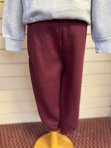 Maroon Tracksuit Bottoms